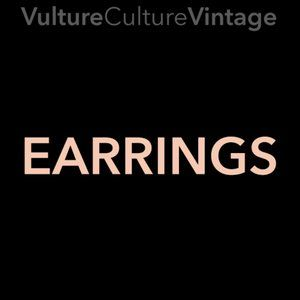 Vulture Culture Vintage 💀 EARRINGS